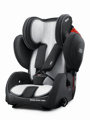 Recaro 兒童安全座椅Young Sport Hero Air Mesh 椅套墊 -  * Feeling cosy and comfortable on the go is super easy! Recaro's Air Mesh Cover is the perfect addition to your infant car seat carrier.