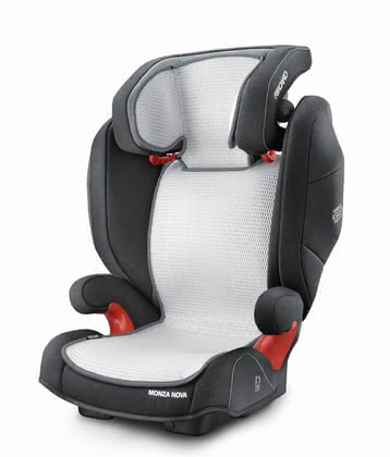 Recaro 兒童安全座椅Monza Nova與Milano系列Air Mesh 椅套墊 -  * Feeling cosy and comfortable on the go is super easy! Recaro's Air Mesh Cover is the perfect addition to your infant car seat carrier.