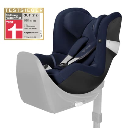 "Cybex Child Car Seat Sirona M2 i-Size -  * Cybex' Sirona M2 i-Size is a child safety seat that grows with your little one and conforms to the trans-European regulations of child car seats, the so called ""i-Size"" or ECE 129. Its one-hand use provides optimum adjustment of your little one's sitting and lying position."