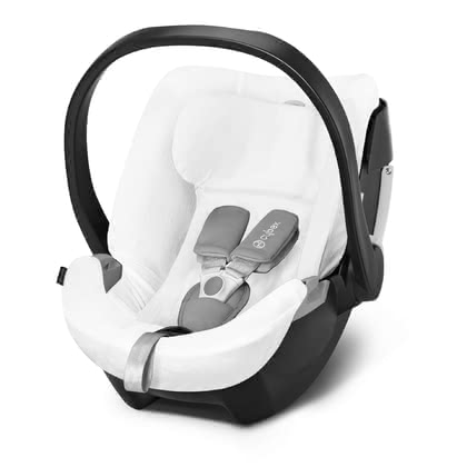Cybex Summer Cover for Infant Car Seat Aton 5 -  * Cybex' summer cover is perfect for hot summer days. It is suitable for the Cybex Infant Car Seat Aton 5 and prevents your child from breaking a sweat.