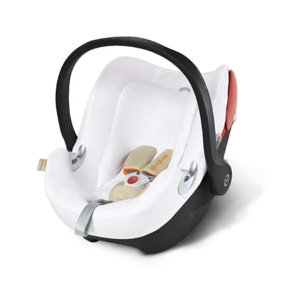 Cybex Summer Cover for Infant Car Seat Aton Q -  * Cybex' summer cover is perfect for hot summer days. It is suitable for the Cybex Infant Car Seat Aton Q and prevents your child from breaking a sweat.