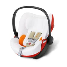 Cybex Summer Cover for Infant Car Seat Cloud Q -  * Cybex' summer cover is perfect for hot summer days. It is suitable for the Cybex Infant Car Seat Cloud Q and prevents your child from breaking a sweat.
