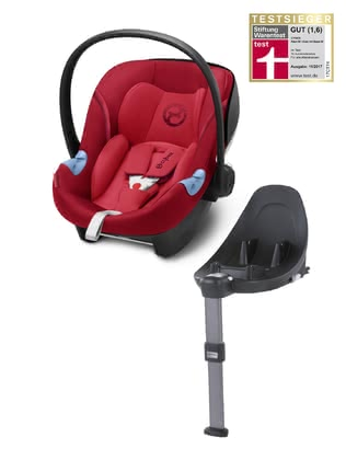 Cybex賽百斯Aton M i-Size嬰兒提籃 包含底座M Basisstation Base M -  * This amazing set consists of the Cybex infant car sear Aton M i-Size and the Base M and conforms to the latest European standards for child safety and carries your child from 45 to 87 cm safely in a rear-facing mode.