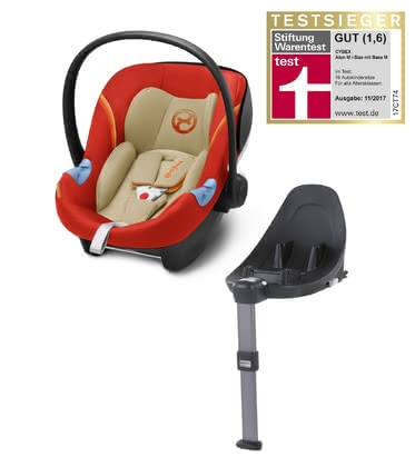 CYBEX Infant Car Seat Aton M i-Size including Base M