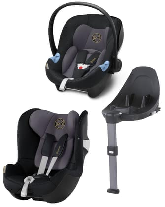 Cybex賽百斯M-Line組合系統i-Size座椅 -  * With the M-Line Modular System which conforms to the new i-Size norm, your child can travel safely in a rear-facing mode from birth up to approx. 4 years.