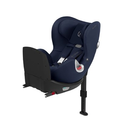 Cybex賽百斯鉑霆系列Q i-Size兒童安全座椅 -  * With the car seat Sirona Q i-Size, Cybex has launched the first i-Size car seat with impact shield. It features a 360° rotation and can be attached to your car by using an easy one-click installation with ISOFIX.