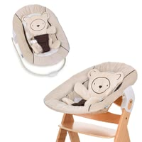 Hauck Alpha Bouncer2合1 嬰兒搖籃座位 -  * Hauck's Alpha Bouncer 2 in 1 is the perfect accessory to complement your wooden highchair by Hauck.