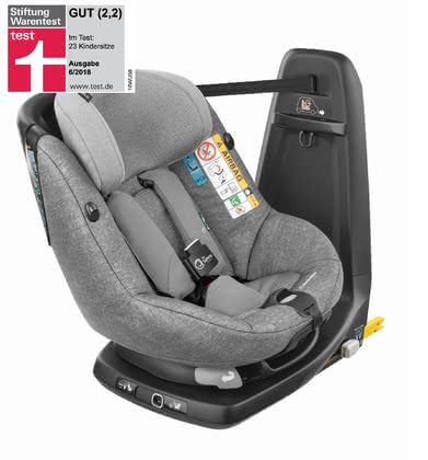 Maxi Cosi 邁可適 AxissFix Air 兒童安全汽座 -  * The world's first child car seat with built-in airbags! The invisible protection of the AxissFix Air that makes this car seat up to 55% safer and reduces the forces on your child's head and neck in a front end collision, is ready for action in the blink of an eye.