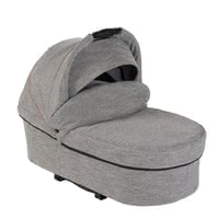Hartan 推車睡籃 -  * This fold carrycot by Hartan comes with a lying surface of 77 x 35 cm and supplies your child with a safe and comfortable feeling while transforming your Hartan pushchair into a multi-functional pram.