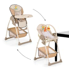 Hauck Highchair Sit'n Relax, Winnie the Pooh -  * The perfect highchair for new-born babies.