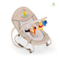 Hauck Baby Bouncer Bungee Deluxe, Winnie the Pooh -  * Hauck's baby bouncer Bungee Deluxe supplies your child with a particularly cosy and soft spot which is perfect for playing, relaxing and sleeping.