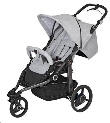 Hartan 兒童推車Skater GTS -  * The German pram manufacturer Hartan has designed the Skater GTS for all sporty and active parents – its three tyres master even high speed strolls easily.