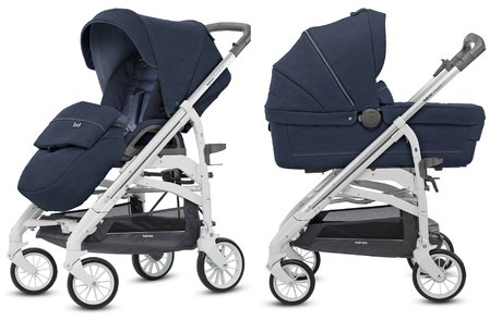 Inglesina Trilogy City System Duo -  * Now the Trilogy City is even more practical than before – its slender chassis that features a width of only 50 cm turns this trendy chap into an indispensable companion for the urban jungle.