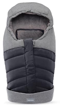 Inglesina新生兒 – 冬天保暖腳袋 -  * When its cold outside, it is extremely important to keep your little one warm and cuddled up in her infant car seat or in the pram. The cuddly soft new-born winter footmuff by the Italian manufacturer Inglesina stands out as the trendiest and most perfect winter accessory.