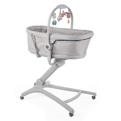 Chicco Baby Hug 4 in 1 - * With the Chicco Bassinet it is possible to increase the mattress in the travel cot.