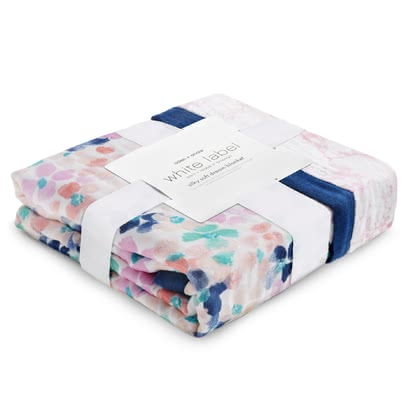 aden+anais White Label Soft Dream Blanket -  * White Label – born and raised in Brooklyn. The new range White Label comes in wonderful designs that will delight modern and trendy parents instantly.