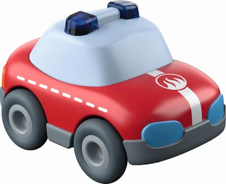 HABA Kullerbü – 玩具車 火警車 -  * The fire truck with its momentum motor ensures even more fun on all Kullerbü ball tracks.