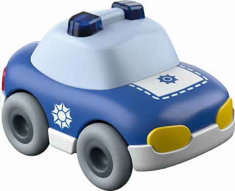 Haba警察玩具車 -  * This cute little police car will bring ultimate driving fun into your little one's nursery by running down any Haba Kullerbü ball track with high speed.