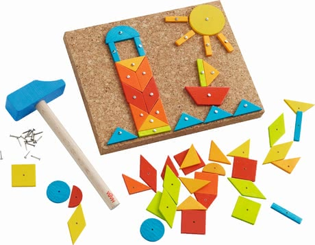 Haba釘子游戲 -  * The cheerful tack zap games by Haba bring a lot of creative and fanciful playing fun into your little boy's or girl's nursery.