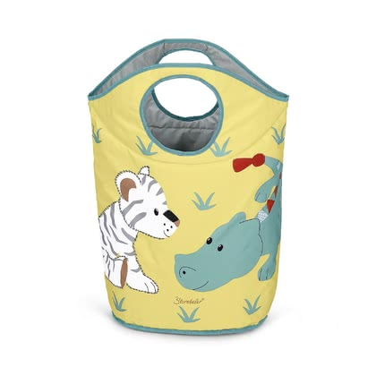 TW Sterntaler 衣物玩具收納袋 -  * Sterntaler's practical and cute laundry collector helps you keep your little one's nursery tidy in a playful and fun way.