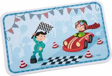 Haba Zippy Cars Breakfast Board -  * Yummy, this is so tasty! Haba's adorable breakfast board will turn even small snacks into the tastiest and most enjoyable meals of the day.