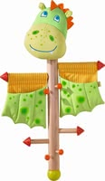 Haba兒童晾衣架 小龍造型 -  * Haba's coat rack comes in a great dragon design and will be the ultimate highlight in your child's nursery or in your hall.