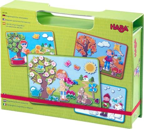 Haba盒裝磁力游戲 -  * Haba's amazing magnetic game boxes bring ultimate fun while playing and putting together exciting new worlds.