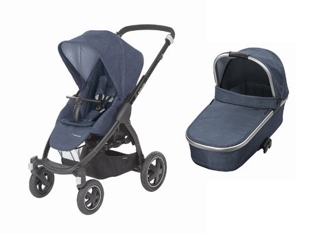Maxi-Cosi Stroller Stella including Carrycot Oria Nomad Blue 2018 - 大圖像