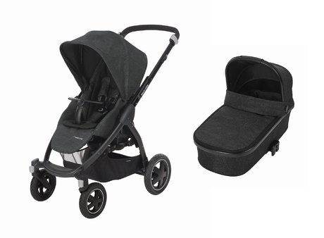 Maxi-Cosi邁可適兒童推車Stella包含嬰兒睡籃 -  * Maxi-Cosi's stroller Stella including the carrycot Oria supplies your child with a cosy retreat on four wheels from a comfortable carrycot to a spacious sport seat.