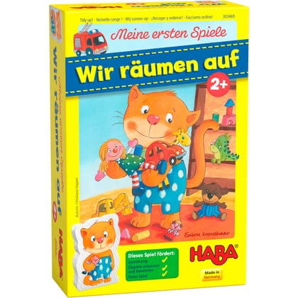 "Haba寶寶玩具-我們一起來整理吧 -  * Haba enchant and delight even the smallest and youngest among us with their fantastic games. ""Let's tidy up!"" is suitable for children at the age of two years and up."
