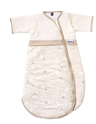 Gesslein Bubou睡袋,米色-小綿羊款 -  * This super cosy sleeping bag accompanies your little one safely through the night. The adorable motif as well as subtle colours turn this sleeping bag into a comfortable companion that guarantees sweet dreams.