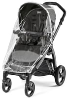 Peg-Perego Rain Cover -  * This stable and resilient rain cover matches your Peg-Perego pram perfectly and withstands wind and rain in a most reliable way.