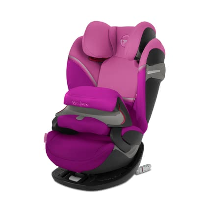 CYBEX 賽佰斯兒童安全座椅Pallas S-Fix Magnolia Pink - purple 2021 - 大圖像