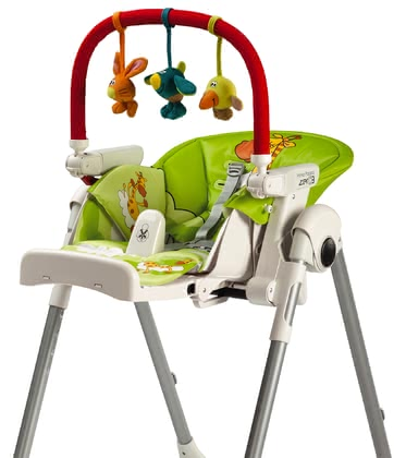 Peg Perego高腳椅 玩具掛架 -  * The Peg-Perego play bar features funny and colourful figures that entertain your little one while sitting in one of Peg-Perego's high chairs. For varied fun between the meals.