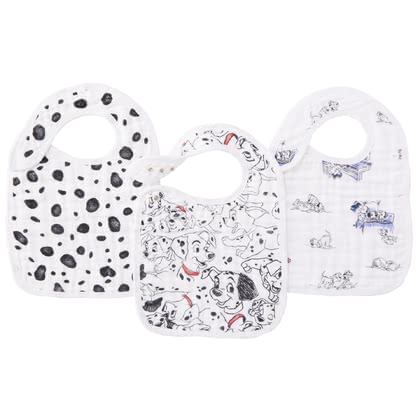 aden+anais 迪士尼圍嘴 -  * Spilling allowed! The snap bibs by aden+anais are now available in a colourful Disney design.