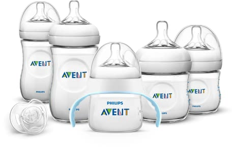 飛利浦AVENT Philips新生兒Naturnah奶瓶套裝配有學飲杯 -  * The extensive Natural Set with Trainer Cup by Philips Avent is an ideal and valuable gift perfect for expecting and/ or new parents and their little ones.