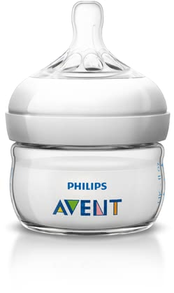AVENT Philips Natural Baby Bottle 60ml -  * The Philips Avent Natural Baby Bottle holds 60 ml and is perfect for your new-born baby, because it provides an optimal amount of food for your child.