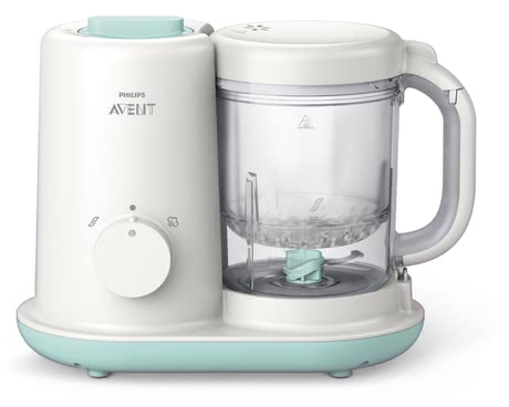 飛利浦AVENT Philips健康蒸製攪拌輔食機Viva系列 -  * The Philips Avent baby food maker is perfect for preparing the most delicious and healthiest meal for your little on in only a few steps.