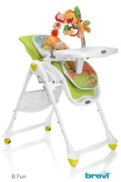 Brevi Highchair B.Fun -  * The Brevi highchair B.Fun accompanies you and your little sunshine from birth up to the age of three years.*
