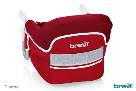 Brevi Hook-on Seat Dinette - * The Brevi hook-on seat Dinette is a great solution for offering your child at the age of 6 months and up a cosy seat for taking his meals when being out and about or travelling.