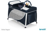 Brevi Travel Cot Dolce Sogno -  * The Brevi travel cot Dolce Sogno provides a fully equipped sleeping, changing and playing area for your child and is suitable right from birth and up. It can be folded to a compact size and is ideal for being used at home or on the go while travelling.