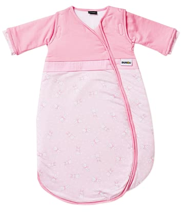 Gesslein Bubou睡袋,粉色-小兔款 -  * This super cosy sleeping bag accompanies your little girl safely through the night. Exquisite colours as well as the child-oriented design turn this sleeping bag into a comfortable companion that guarantees sweet dreams.