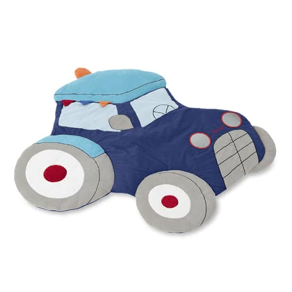 Sterntaler 拖拉機 Tom圖案爬行墊 -  * It's time to get Sterntaler's adorable crawling blanket that comes in a most extraordinary design. Featuring a fancy tractor shape, this cute blanket is an absolute eye catcher that will add some oomph to your little one's nursery.