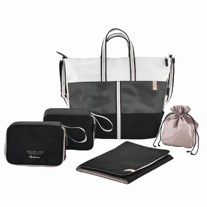 Quinny 豪華運動型媽媽包Rachel Zoe款 -  * Quinny's change bag Luxe Sport will add some glamour to your appearance. Being designed by the well-known artist and designer Rachel Zoe, this trendy change bag that features a sporty and casual look with many luxurious details will delight you immediately.