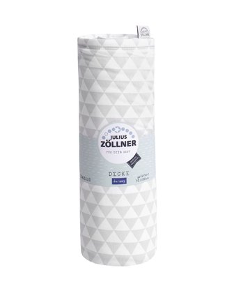 Zöllner 帶填充薄毯Jersey -  * Zöllner's padded blanket made of 100% cotton jersey accompanies your child from birth up to his toddler years.