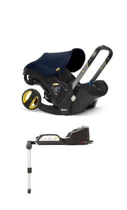 Doona+ Mobile Infant Car Seat including Isofix Base -  * With the Doona+ infant car seat that can be transformed into a small buggy by the touch of a button, your child travels safely while being provided with a most comfortable equipment. The Isofix base supplies your child with even more safety.