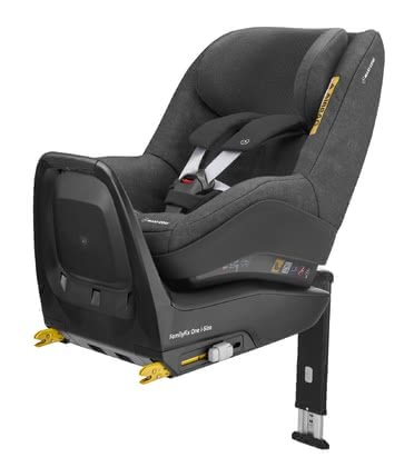 Maxi-Cosi邁可適Pearl One i-Size兒童安全座椅包含FamilyFix One i-Size底座 -  * The Maxi-Cosi child safety seat Pearl One is suitable for children with a body height between 67 cm and 105 cm and is to be installed in a rear-facing mode only.
