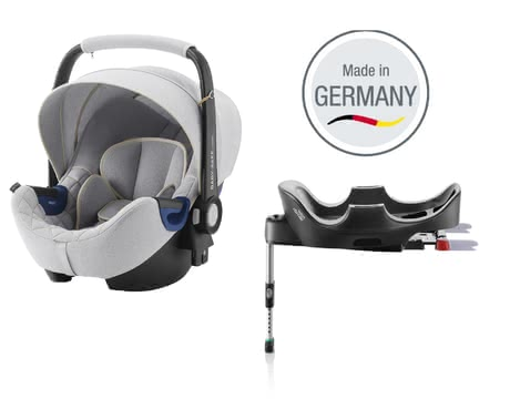 Britax Römer寶得適城市太空艙Baby Safe 2 i-Size包含Flex底座 特別定製版北歐灰 -  * The infant car seat Baby Safe 2 i-Size including Flex Base by Britax Römer offers plenty of space to grow and provides a flat recline position.