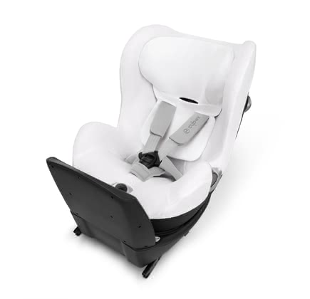 Cybex Summer Cover for Child Car Seat Sirona Q i-Size -  * The Cybex summer cover is suitable for the child safety seat Sirona Q i-Size and prevents your little one from breaking a sweat. It is made of 85% cotton and 15% polyester.