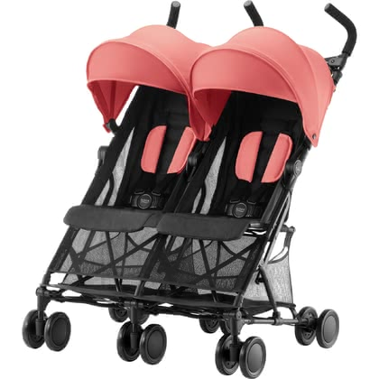 Britax Römer寶得適Holiday Double假日傘車雙胞胎款 -  * The super-light double buggy Britax Römer Holiday Double will turn every trip with your two bundles of joy into an unforgettable experience.